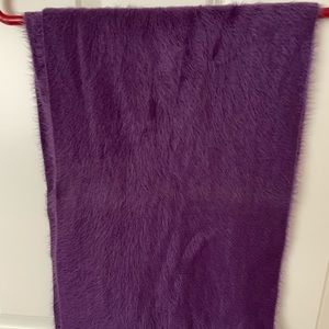 Super soft purple infinity scarf